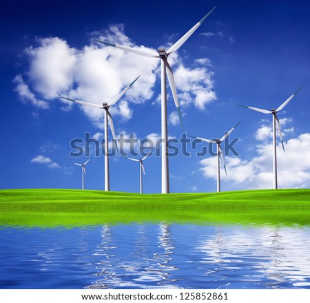 Environmental protection and healthy life - stock photo