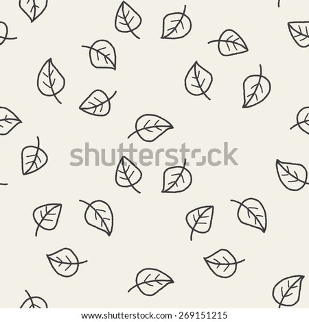 Environmental protection concept; Doing recycle to protect our environment; recycled garbage; doodle seamless pattern background - stock photo