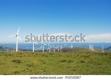 Eolian generator - stock photo