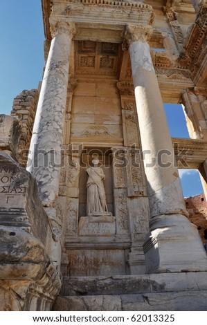 Ephesus statue - stock photo