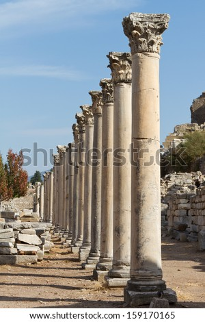 Ephesus, Turkey - stock photo