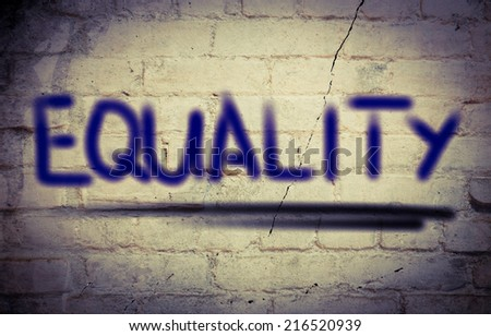 Equality Concept - stock photo