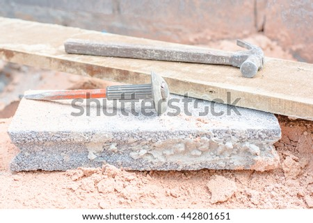 Equipment bricklayer