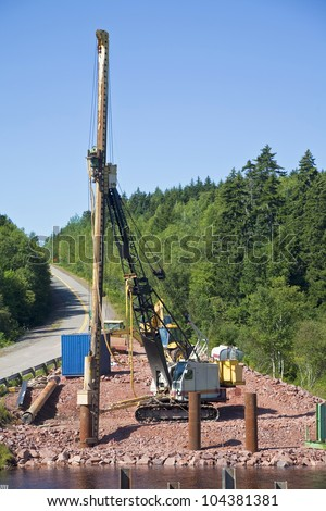 Foundation Pylon Stock Photos Images Pictures