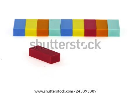 eraser - stock photo