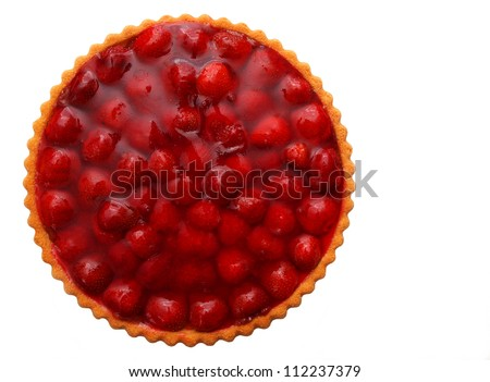 Erdbeertorte - stock photo