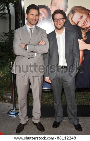 "Eric Bana (left) & Seth Rogen at the world premiere of his new movie ""Funny People"" at the Arclight Theatre, Hollywood. July 20, 2009  Los Angeles, CA Picture: Paul Smith / Featureflash"