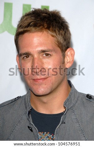 Eric szmanda at the cbs cw and showtime all star party huntington