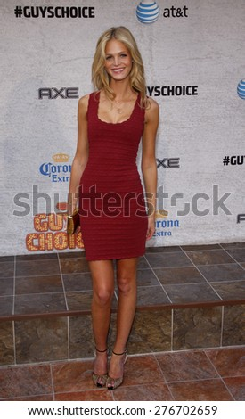Erin Heatherton at the 2011 Spike TV's Guys Choice Awards held at the Sony Studios in Culver City on June 4, 2011.