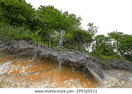 erosion - stock photo