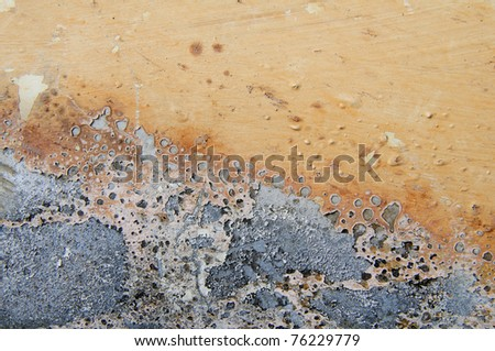 Erosional Force - stock photo