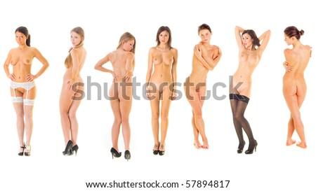 Erotic Models - stock photo