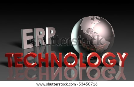 ERP Technology System Abstract as a Concept