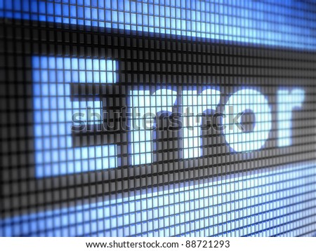 Error