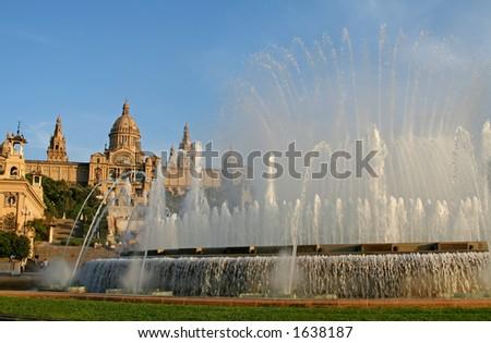 Espai d'Art Gallery in Barcelona, Spain - stock photo