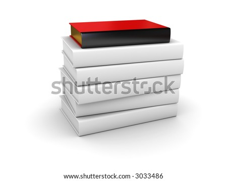 especial book (for your text on butt end of the book) - stock photo