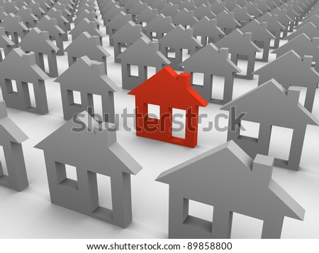 Especial house - stock photo