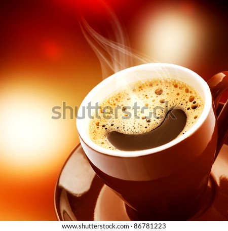 Espresso Coffee - stock photo