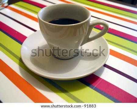 espresso coffee    - stock photo