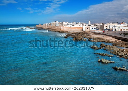 Essaouira, Province Marrakesh-Tensift-El Haouz, Morocco - stock photo