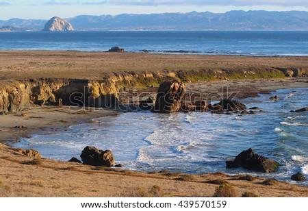 Estero Bluffs State Park, near Morro Bay, California - stock photo