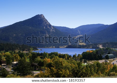 Estes Park, Colorado - stock photo