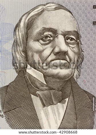 ESTONIA - CIRCA 1992: Karl Ernst von Baer on 2 Krooni 1992 Banknote from Estonia. Baltic German biologist pioneer in embryology.