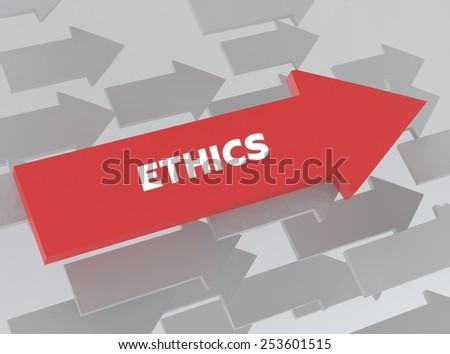 ETHICS - stock photo