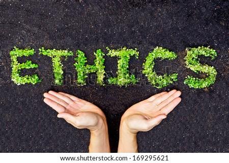 ethics / csr / corporate social responsibility - stock photo