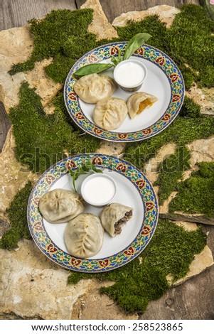 ethnic cuisine - stock photo