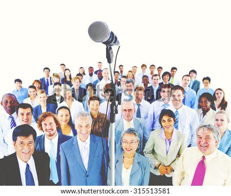 Ethnicity Variation Business People Corporate Team Concept