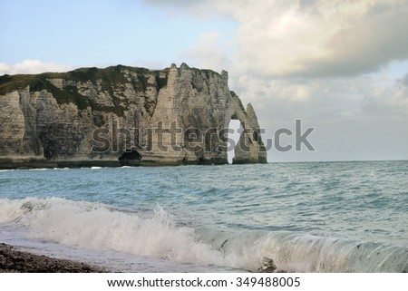 Etretat, Normandy, France