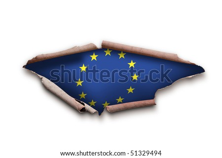 Eu flag cutout