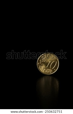 Euro cents  - stock photo