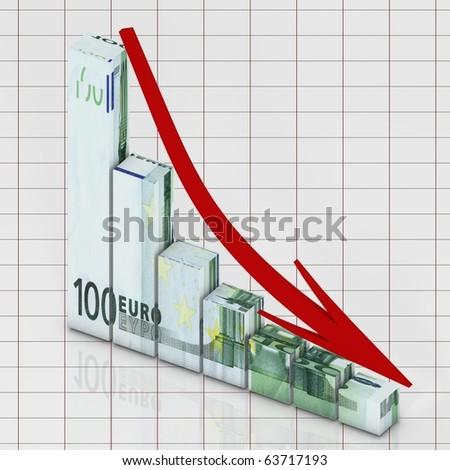 Euro concept - stock photo