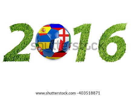Euro cup symbol - stock photo