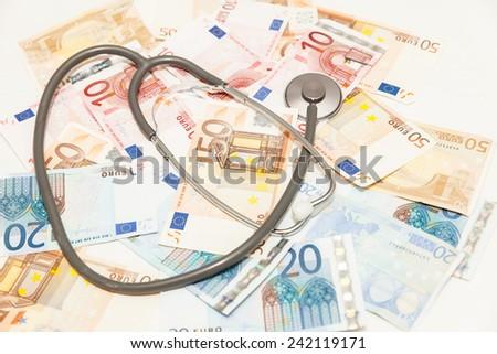 euro health - stock photo