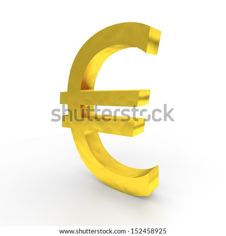 Euro in gold