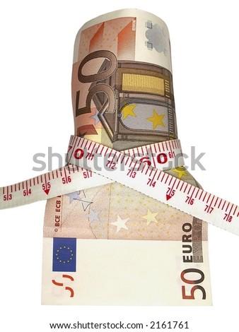 euro rate - stock photo