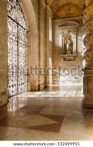 euroep, italy, sicily, siracusa, dome nartex - stock photo