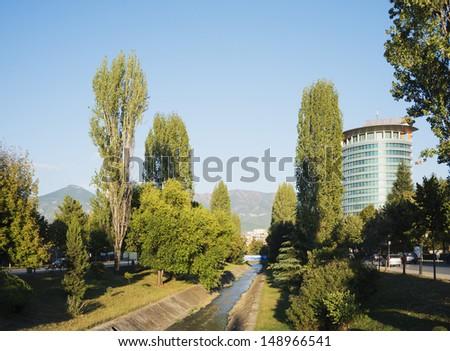 Europe, Albania, Tirana - stock photo