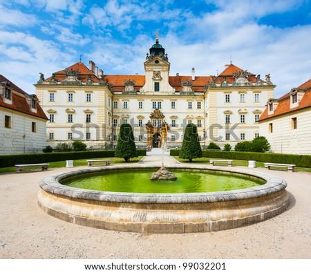 European baroque castle - stock photo