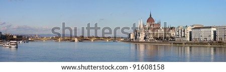 European cityscape - stock photo
