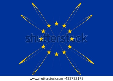 European original flag colors designs