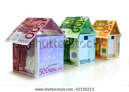European Real Estate - stock photo