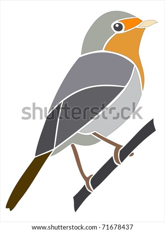 Bird Robin Silhouette Stock Photos, Images, & Pictures ...