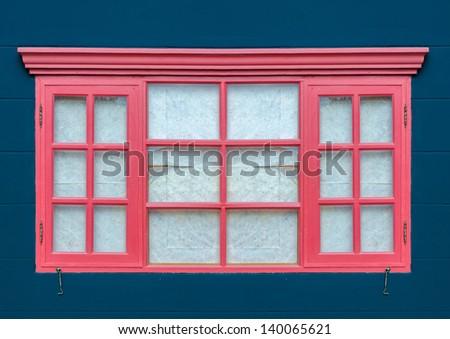 European style window use for design - stock photo