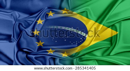 European Union and Brazil. The concept of relationship between EU and Brazil.