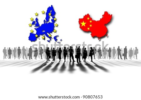 European Union and China: work team