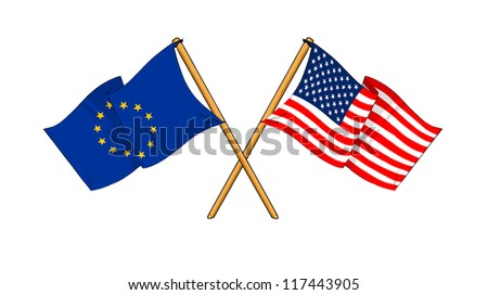 European Union and United States alliance and friendship